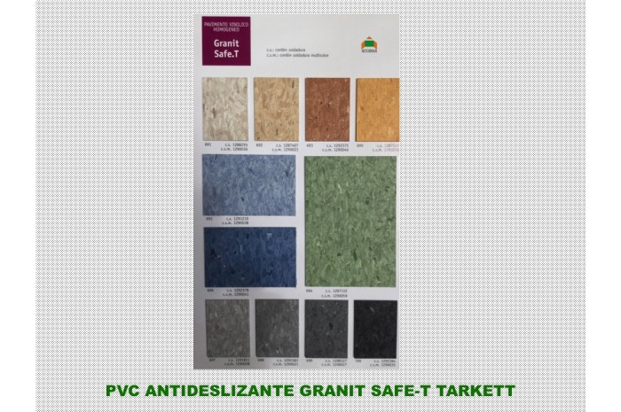 PVC ANTIDESLIZANTE SAFE T TARKETT