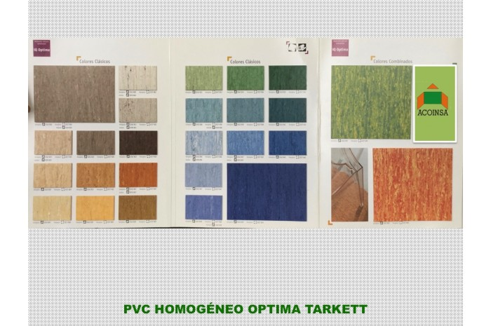 PVC HOMOGENEO OPTIMA TARKETT
