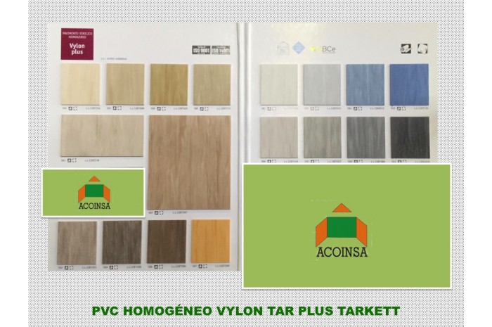 PVC HOMOGENEO VYLON PLUS TARKETT