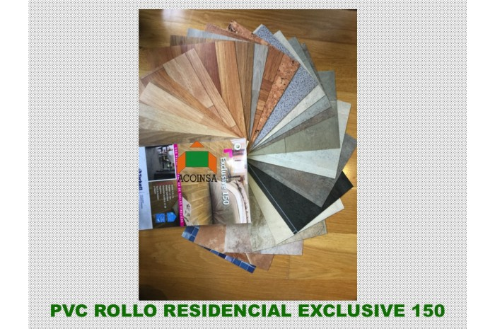 PVC ROLLO EXCLUSIVE 150 TARKETT RESIDENCIAL