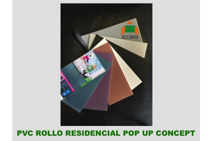 PVC ROLLO POP UP TARKETT RESIDENCIAL